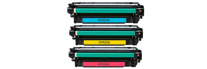 HP CE264X/CF031A/CF032A/CF033A