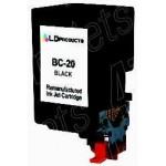 38ML Regenerado Canon BJC 2000/2010/4000- Negro  BC-20