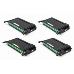 Negro REG Samsung Clp 650, 600N, 650N.4K pagine CLP-K600A