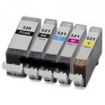 Negro 10ml con chip para Canon Ip3600/IP4600/MP540/MP620/630