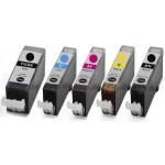 Negro con chip para Canon IP 4850,MG 5150,MG 5250,4529B001
