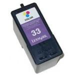 21ml  REG.para LexmarkX5250 X8350 Z810 Z818 N°33